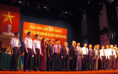 Một số hình ảnh Đại hội thành lập Hội Nhân lực nhân tài Tp Hải Phòng lần thứ I